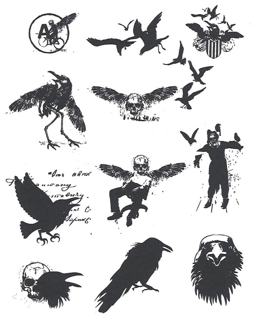 ij crow nation prints
