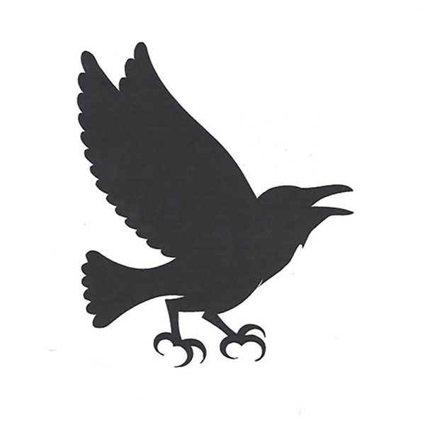 ij crow bird logo